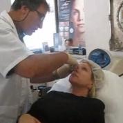 הזרקת חומרי מילוי בשיתוף פעולה עם המטופלים