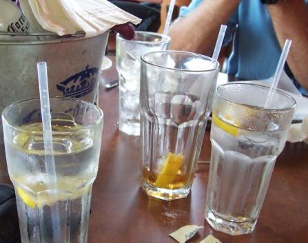 שתייה מרובה. לא תסייע במיוחד