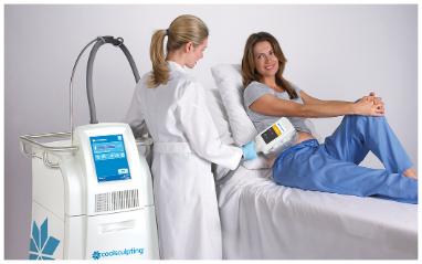 מכשיר להמסת שומן בקור בטיפול אחד